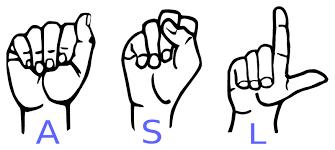 American Sign Language 1 -High School-Monday
